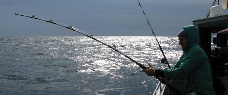 Bluewater charter fishing shark fishing ireland for Shark fishing gear