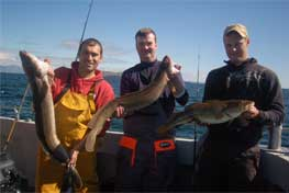 Fishing Rates : Charter Fishing, Clifden, Galway, Ireland